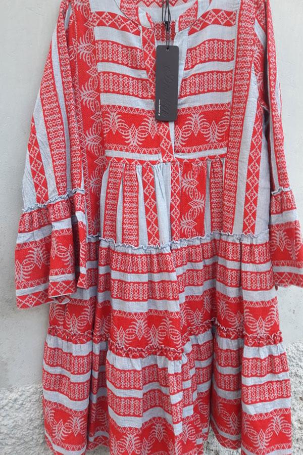 neue Kollektion Niedriger Verkaufspreis neueste art Devotion Twins dress jeans red