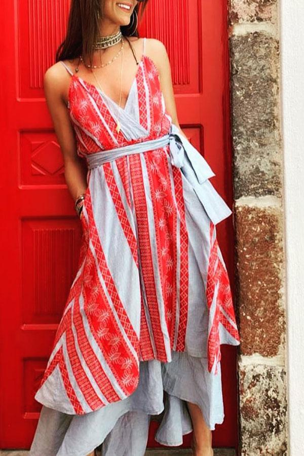 2fac82f7de1 DEVOTION TWINS light blue red embroidery. Category  Dresses ...