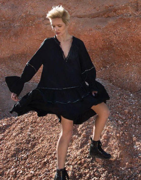 devotion twins black dress