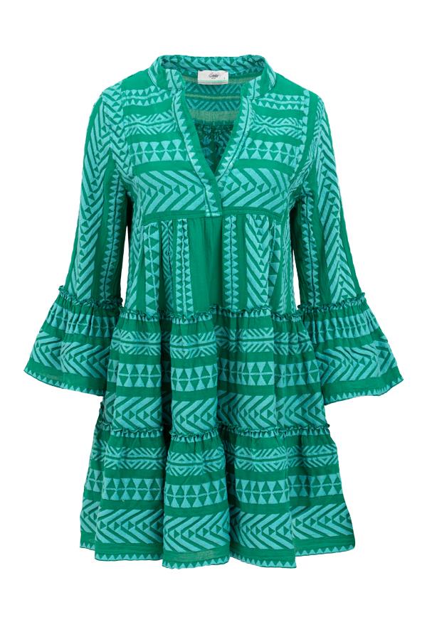 Ella dress devotion twins baby blue green rea short
